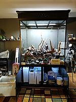 Doing inventory of everything I received from www.customaquariums.com and my other suppliers...  Faux rocks www.vivariumworks.com  Driftwood from...